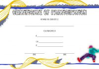 Hip hop Certificate Template 3