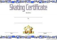 Ice Skating Certificate Template 9