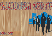 Job Promotion Certificate Template Ideas FREE