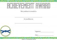 Karate Certificate Template 10