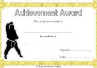 Karate Certificate Template 9