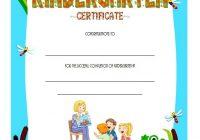 Kindergarten Completion Certificate Template 1-b