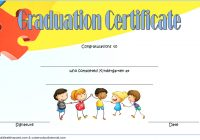 Kindergarten Completion Certificate Template 9
