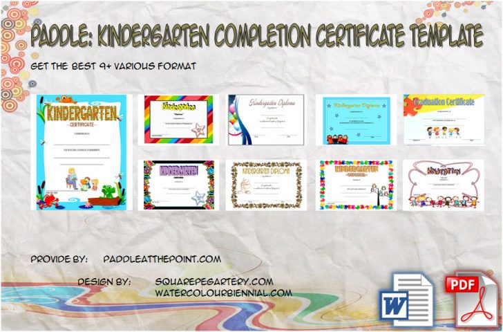 Permalink to The 9 Kindergarten Completion Certificate Template Ideas Free