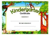 Kindergarten Diploma Certificate Template 9