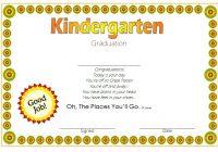 Kindergarten Graduation Certificate Printable 3