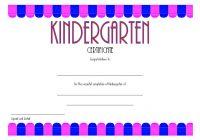 Kindergarten Graduation Certificate Printable