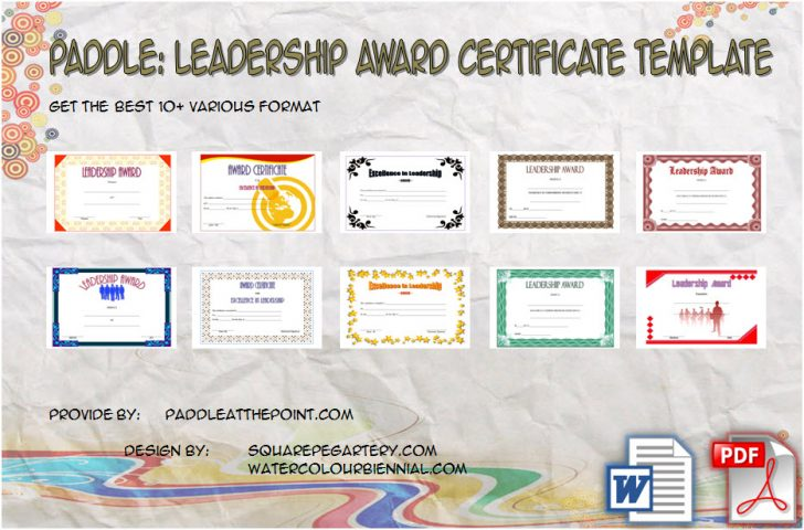 Permalink to Leadership Award Certificate Template Free: The 10 Best Ideas
