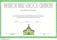 Lifeway VBS Certificate Template 2