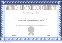 Lifeway VBS Certificate Template 3