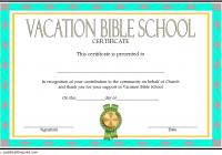 Lifeway VBS Certificate Template 4