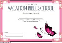 Lifeway VBS Certificate Template 6
