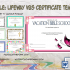 Lifeway VBS Certificate Template Free (The 7+ Fresh Designs)