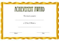 Long Service Award Certificate Template 2