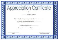 Long Service Award Certificate Template 9