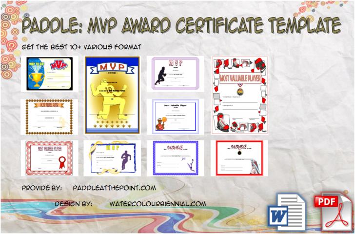 Permalink to MVP Certificate Template – 10+ Superb Award Ideas