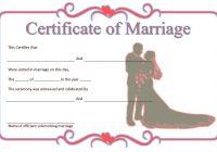 Marriage Certificate Editable Template 9