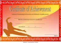 Martial Arts Certificate Template 6