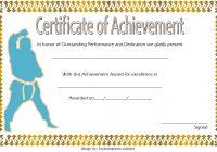 Martial Arts Certificate Template 7