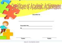 Math Achievement Certificate Template 8