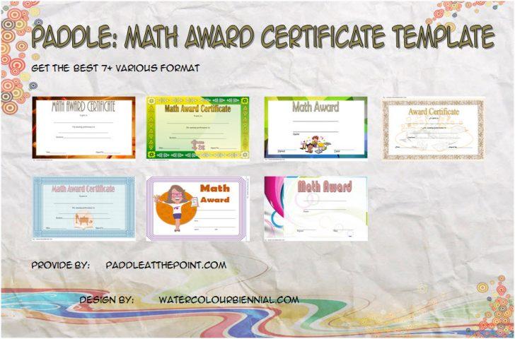Permalink to Math Award Certificate Template – FREE 10+ Best Ideas