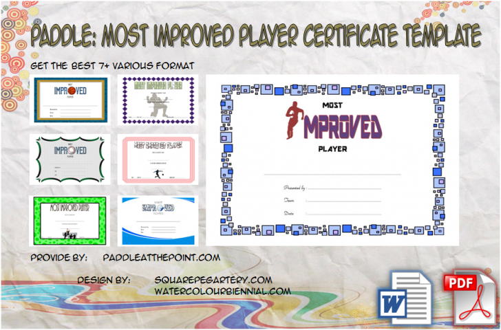 Permalink to Most Improved Player Certificate Template: 7+ Best Choices