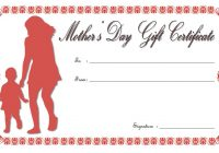Mother's Day Gift Certificate Template 8