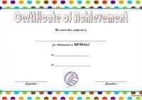 Netball Achievement Certificate Template 4