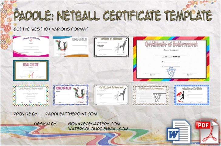 Permalink to Netball Certificate Templates – 10+ Great Template Designs