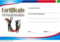 Netball Participation Certificate Template 7