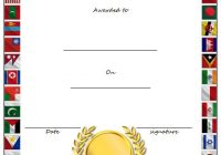 Outstanding Performance Template 1