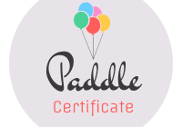 Paddle Certificate