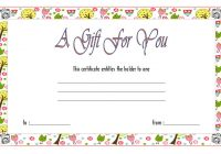Photography Gift Certificate Template 6