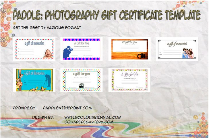 Permalink to 7+ Printable Photography Gift Certificate Templates FREE