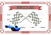 Pinewood Derby Certificate Template 3