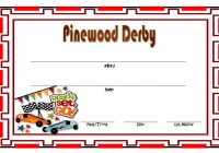 Pinewood Derby Certificate Template 5