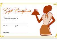 Restaurant Gift Certificate 6