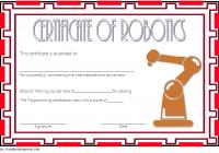 Robotics Certificate Template 2