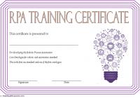 Robotics Certificate Template 8