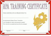 Robotics Certificate Template 9