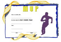 Rugby Certificate Template 5