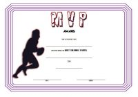Rugby Certificate Template 6