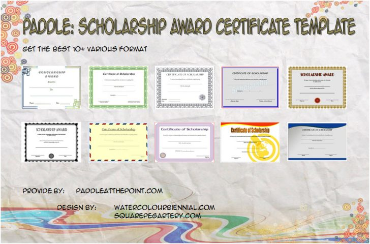 Permalink to Scholarship Certificate Template: FREE 10 Best Design Awards