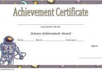 Science Achievement Certificate Template 2