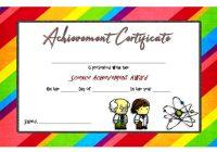 Science Achievement Certificate Template 6