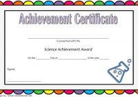 Science Achievement Certificate Template 7