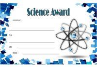 Science Award Certificate 6