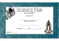 Science Fair Certificate 3