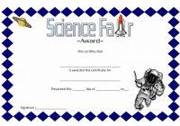 Science Fair Certificate 9