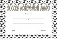Soccer Achievement Certificate Template 3
